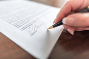 Business contracts, contract checking service
